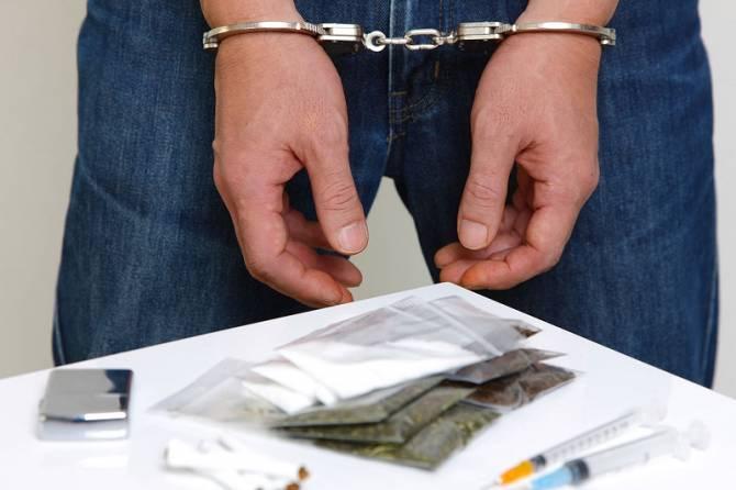 В Новомосковском районе задержали наркодилера ФОТО