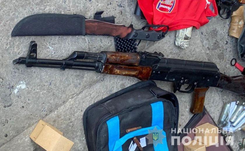 В Кривом Роге полиция обнаружила новый преступный арсенал