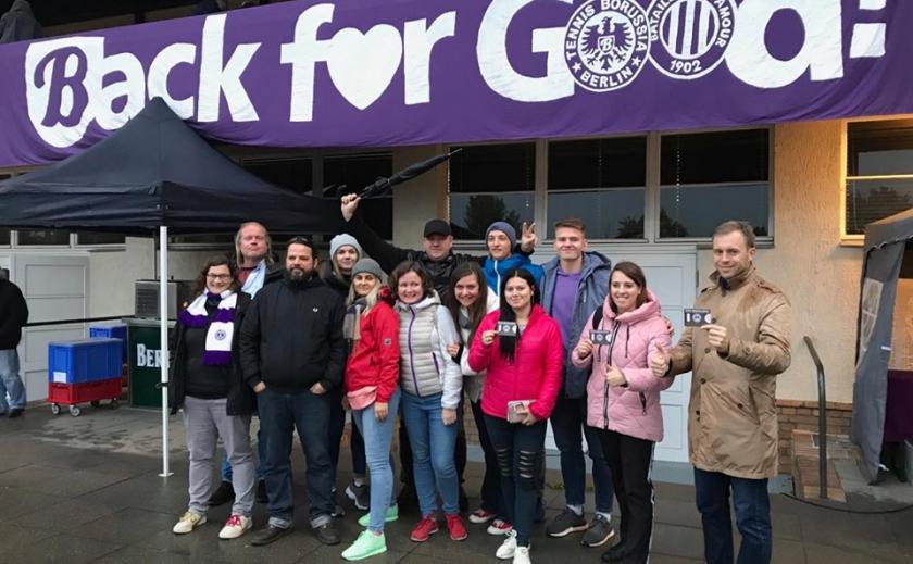 Фан-проект Берлин-2019, день четвертый: знакомимся с футбольной культурой активных болельщиков