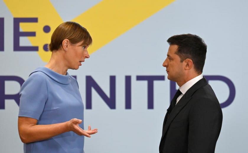 Президент Эстонии заявила, что в Украину нельзя инвестировать из-за риска потерять деньги