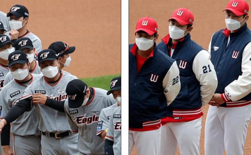 Антивирус. В Южной Корее прошли первые матчи национальной бейсбольной лиги
