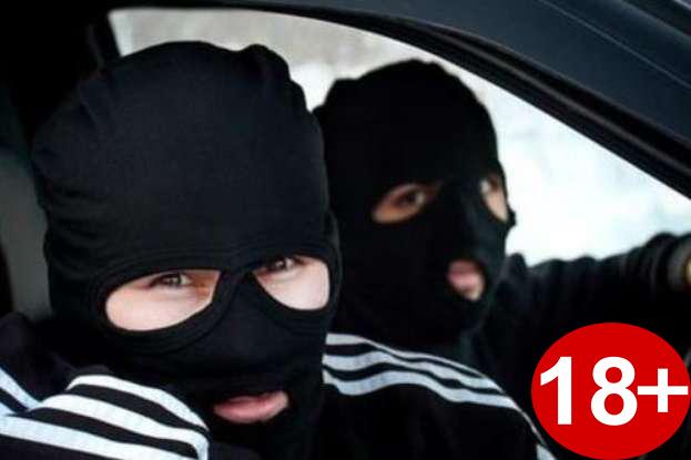 Под Днепром живодёра, повесившего щенка, выкрали неизвестные в масках 18+