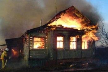 В Павлограде сгорела пожилая женщина