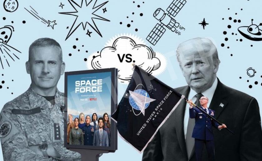 Netflix перехватил торговый знак «Космических войск» у правительства США