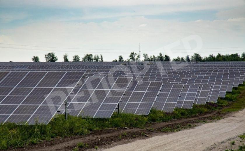 На Днепропетровщине солнце будет давать в казну по 1,5 млн грн в год