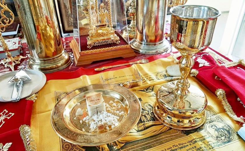 Православные Днепра помолились за избавление народа от коронавируса