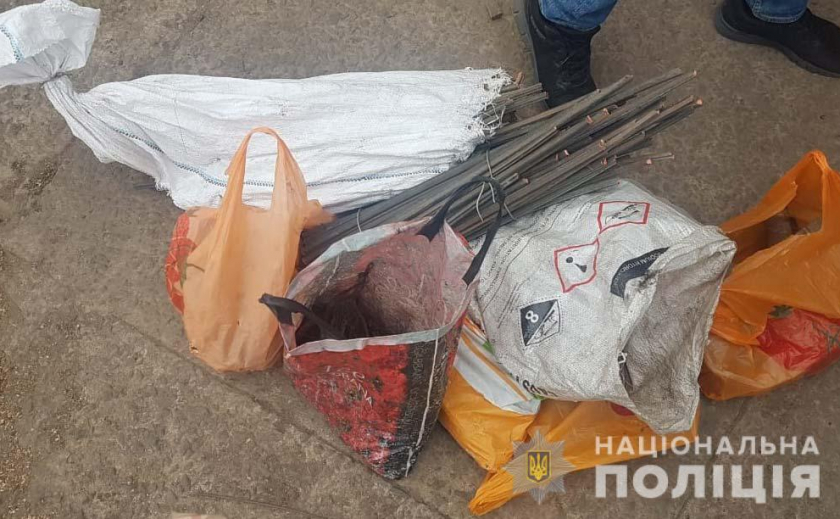 На Днепропетровщине у дедули изъяли 150 кг меди ФОТО