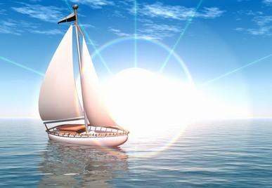 Японцы разработали паруса для кораблей с фотоэлементами