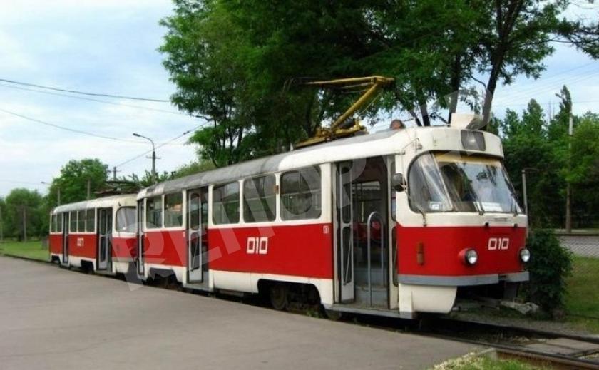 В Днепре на два дня изменили маршрут трамвая №11