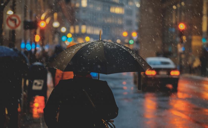 В Днепре - ветер, снег и мороз ПРОГНОЗ ПОГОДЫ