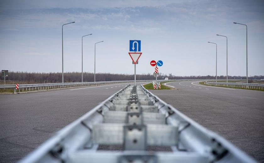 На Днепропетровщине строят трехслойную трассу до Киева ФОТО