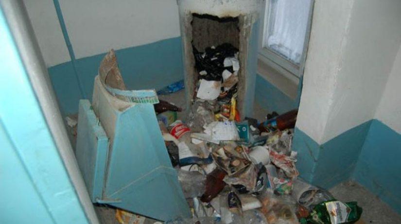Антивирус. Закроют ли в спальных районах Днепра мусоропроводы?